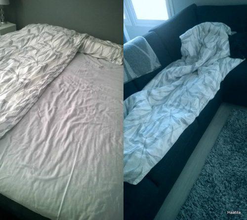 Tyhjä sänky