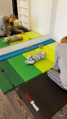 Vauva fysioterapiassa