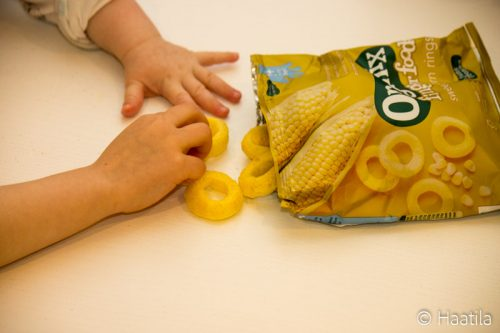 Organix Finger Foods, maissi